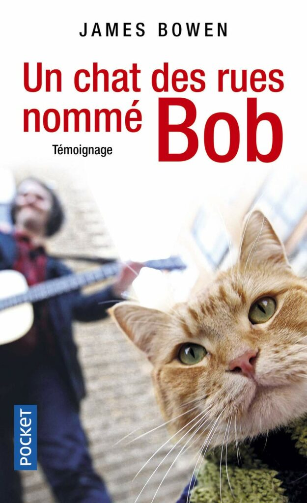 livre un chat des rues nommé bob