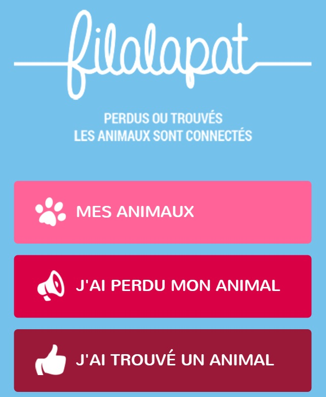 le site filalapat pour chat perdu ou trouvé