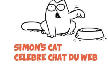 Simon's Cat célèbre chat