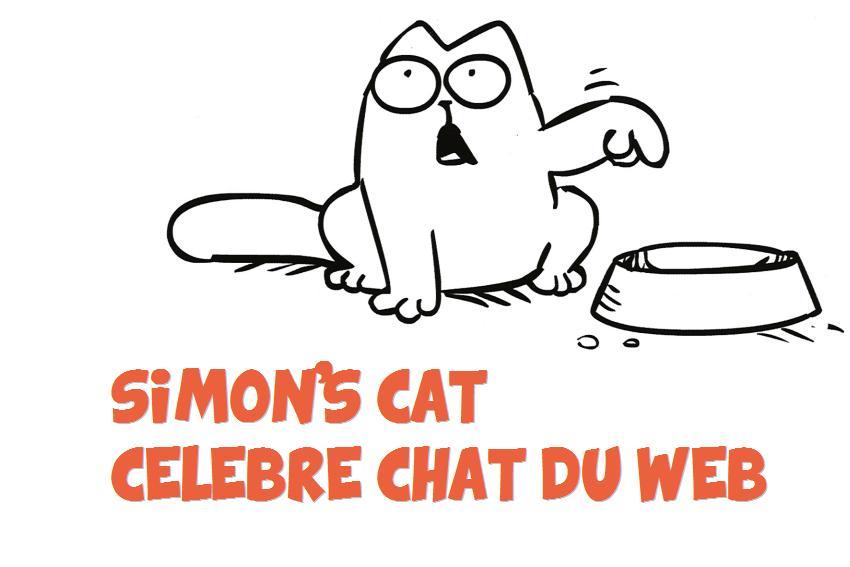 Simon's Cat célèbre chat
