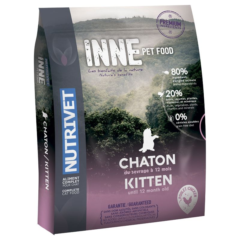 Selection de bonnes croquettes Nutrivet pour chaton sur laVieDesChats.com