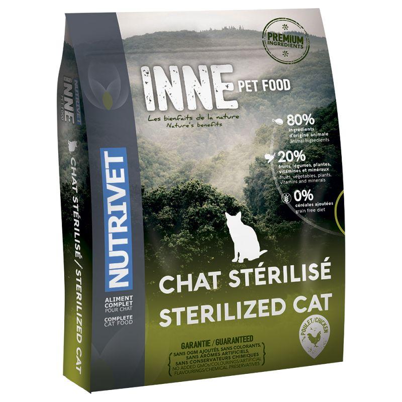 croquettes nutrivet pour chat stérilisé