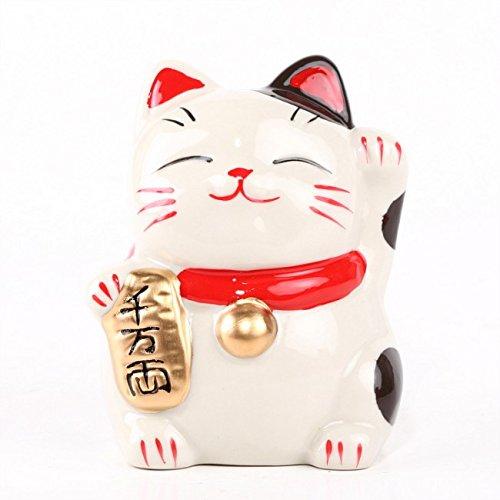 ce chat fait coucou comme le maneki neko