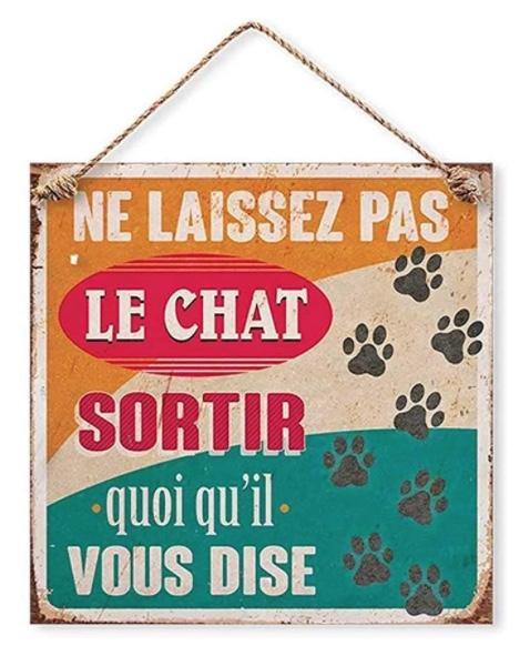 pancarte chat anti evasion