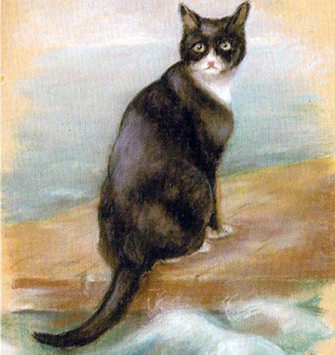 Sam l'insubmersible un chat célèbre de la Royal Navy